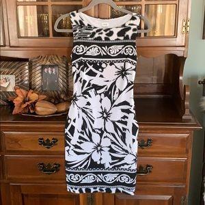 Cashe Gorgeous Black and white dress 👗